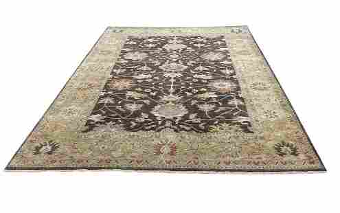 peshawer m262 style rug wool pile hand knotted