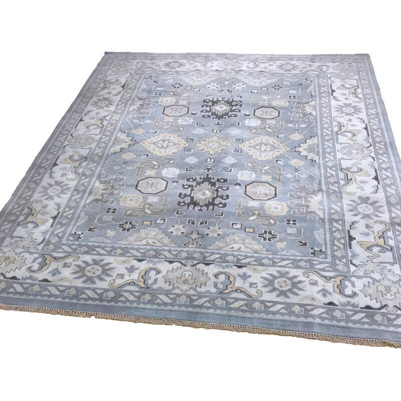 oushak 35 style rug wool pile hand knotted