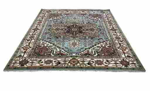serapi d142 style rug wool pile hand knotted