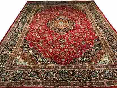 Persian isfahan 485 persian style rug wool pile