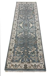 oushak m234 style rug wool pile hand knotted