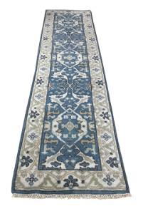 oushak m229 style rug wool pile hand knotted