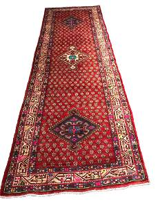Persian tabriz mo511 rug wool pile vintage hand knotted