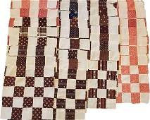 Set of 36 Antique Quilt Blocks from the 1880s