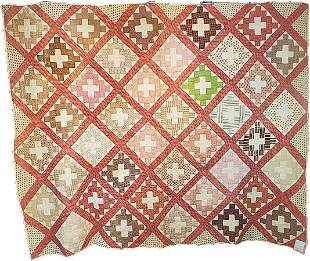 Antique Chimney Sweep Quilt from NY