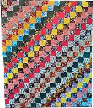 Retro Polyester Quilt
