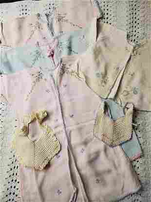 Vintage Baby Textile Grouping