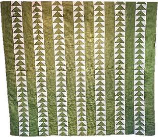 Antique Quilt - Flying Geese
