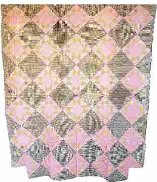 Antique Quilt - Sawtooth Star from MA