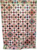 Vintage Quilt - Multi Generational 9 Patch