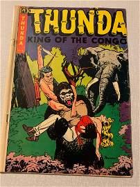 1952 Thunda King of the Congo Comics #4 Powell Cover