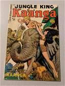 1950 Jungle King Kaanga Comics #6 Fiction House Comic