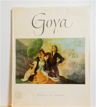 Francisco Goya 16 color Plates