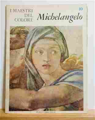 MICHELANGELO color plates and text by Anna Florani