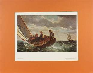 Winslow Homer, Breezing Up