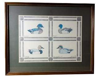 Jean Smith signed and numbered print