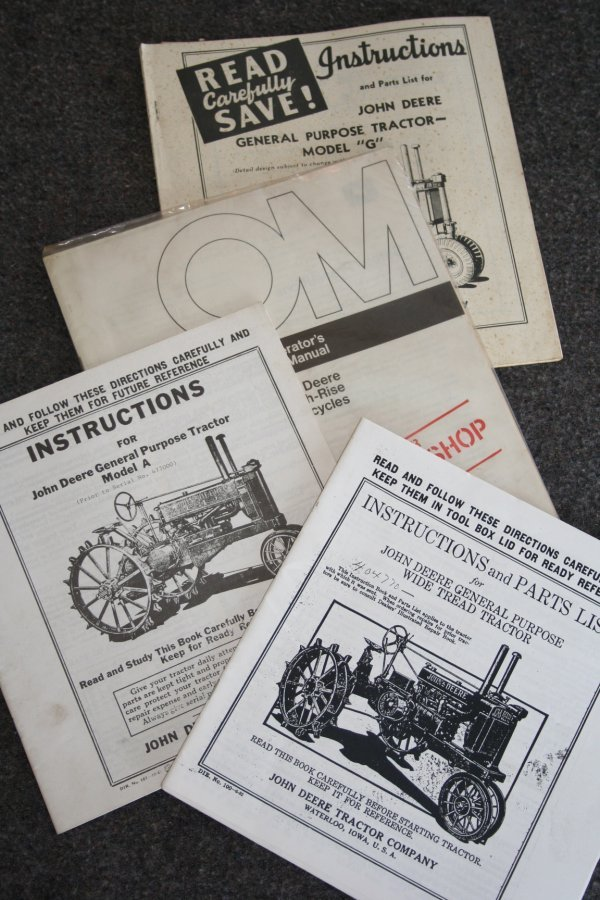 35: John Deere Operators Manual