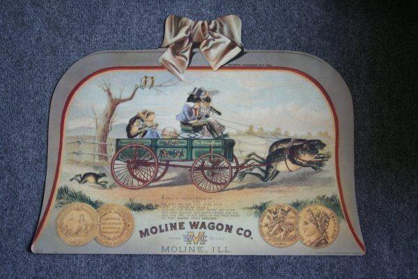 41: Moline Wagon Co. Poster