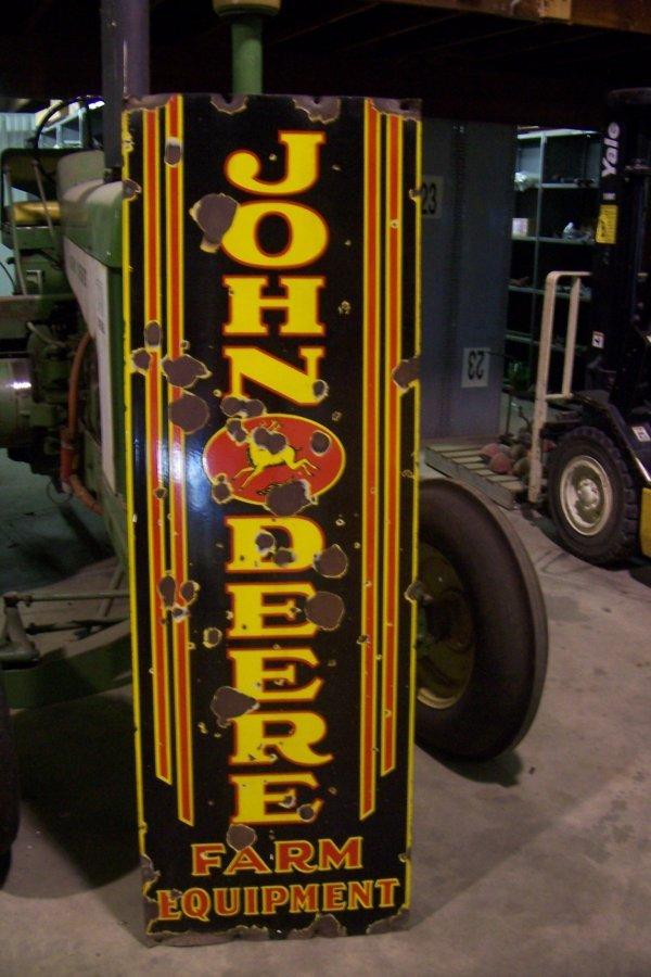 138: John Deere Sign