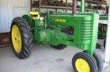 206: John Deere Late Styled G w/ Plow