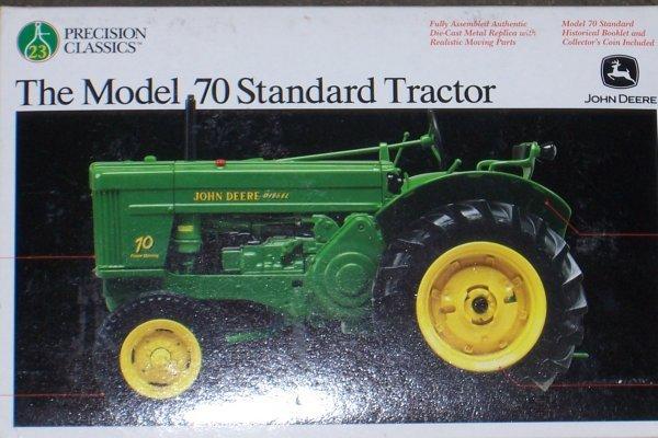 4749: John Deere 70 STD Precision New In Box