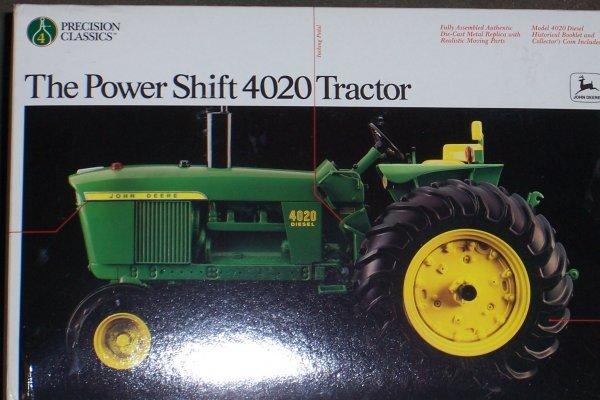4753: John Deere 4020 Precision New In Box