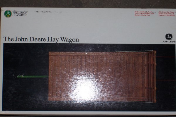 4755: John Deere Haywagon Precision New In Box - 2
