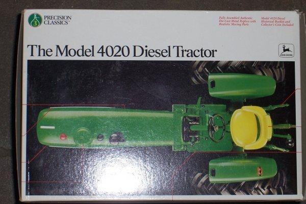 4756: John Deere 4020 Synchro Precision New In Box - 2