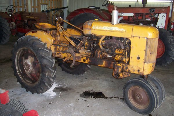 11408: Minneapolis Moline BF Tractor