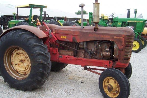 15134: Massey Harris 444 D Tractor #77044