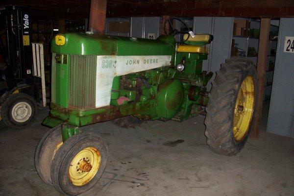 11370: John Deere 630 Tractor #6308413