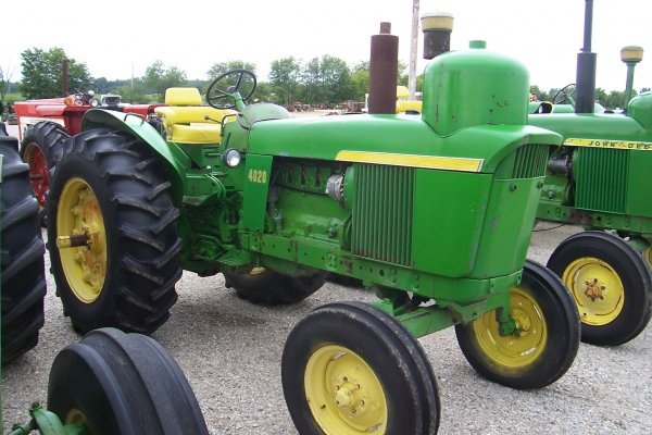 5808: John Deere 4020 LP Standard Tractor #81753
