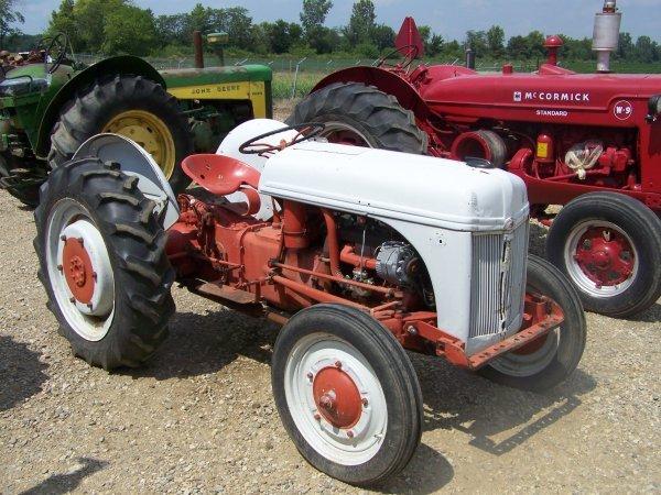 50: Ford 9N Antique Farm Tractor