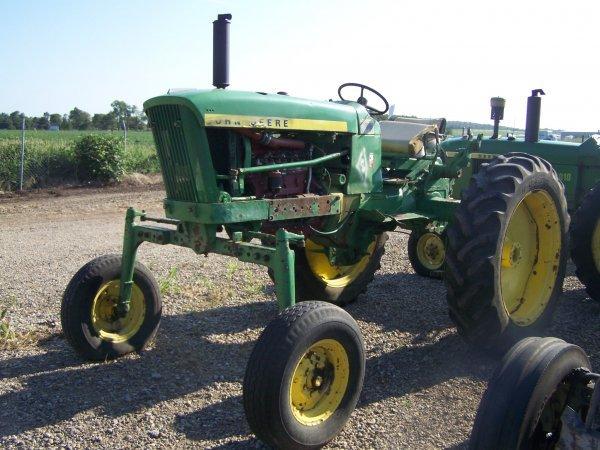 53: John Deere 2010 Diesel High Crop Farm Tractor