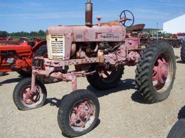 59: IH Farmall 300 High Crop Antique Farm Tractor