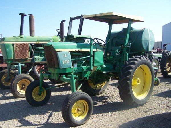 113: John Deere 2010 Diesel High Crop Farm Tractor