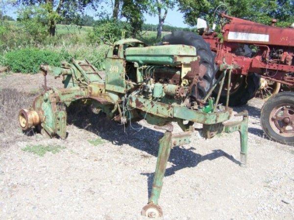 129: John Deere 2010 High Crop Antique Tractor