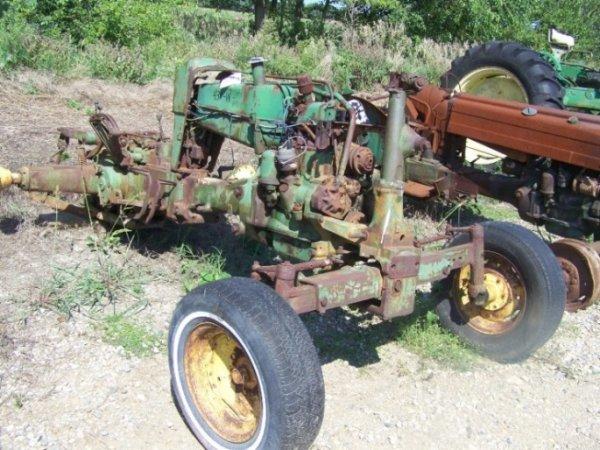 132: John Deere 430 W Antique Farm Tractor