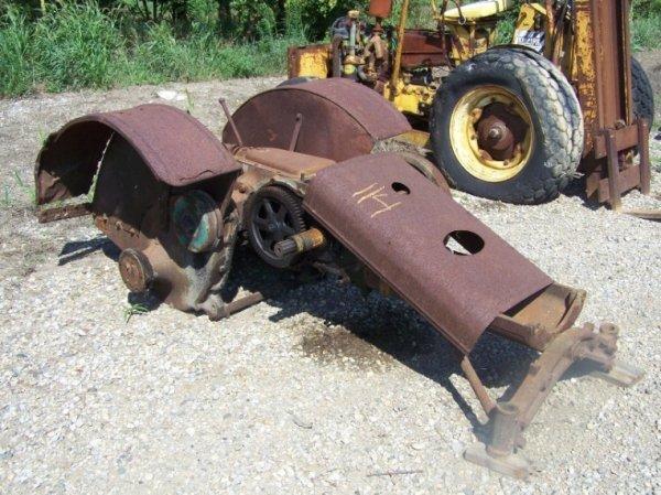 49: John Deere GP Antique Parts Tractor