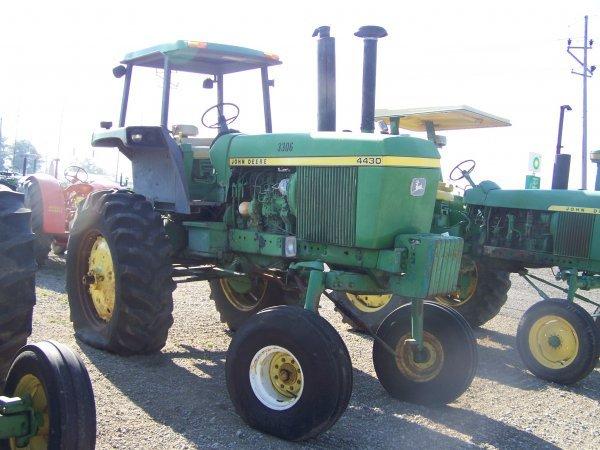 52: John Deere 4430 Hi Crop 4 Post Farm Tractor