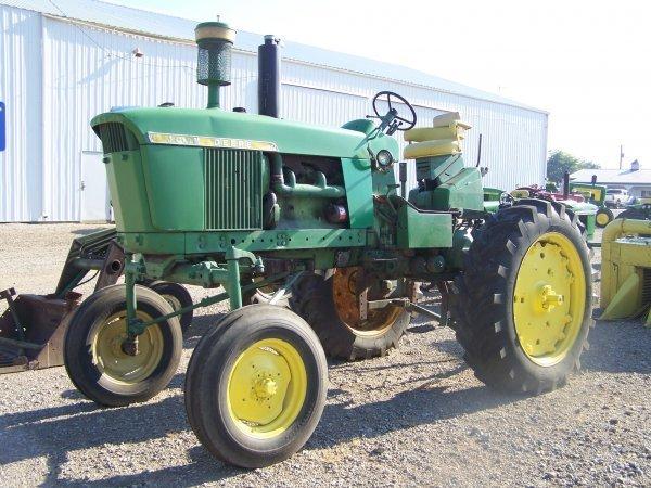 54: John Deere Hi Crop Farm Tractor
