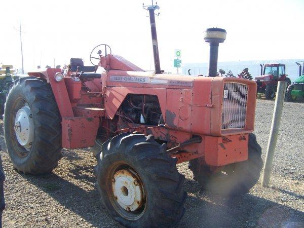 179: Allis Chalmers 190 4x4 Antique Farm Tractor