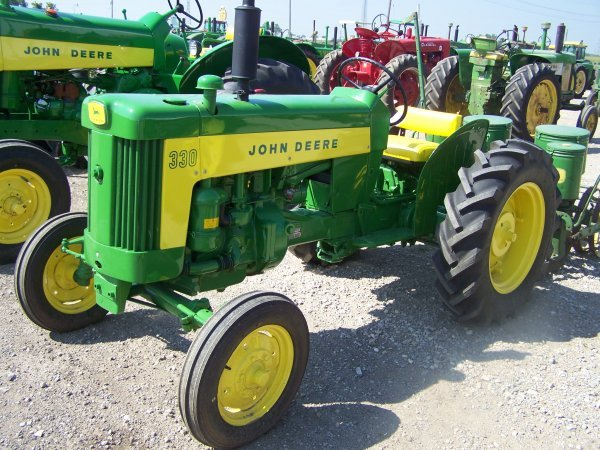 289: John Deere 330 Antique Farm Tractor