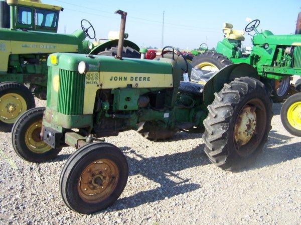 292: John Deere 435 Diesel Antique Farm Tractor