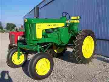 996: John Deere 730 Antique High Crop Tractor