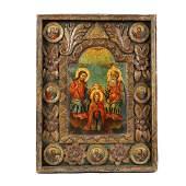 """""""The Holy Trinity and the Coronation of Virgin Mary"""","""