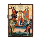 """""""The Holy Trinity, The Coronation of Virgin Mary, Saint"""