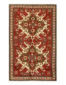 Fantastic Antique Eagle Kazak, Size 4'7'' X 7'7''