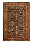 Antique Persian Sultanabad, Size 4'6'' X 6'8''