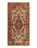 Antique Persian Kerman Size 24 X 42